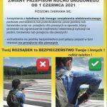 ZMIANY PRZEPISÓW RUCHU DROGOWEGO OD 1 CZERWCA 2021
